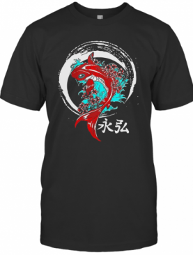 Koi Circle Japanese T-Shirt