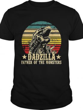 Nice Gorilla Dadzilla Father Of The Monsters shirt