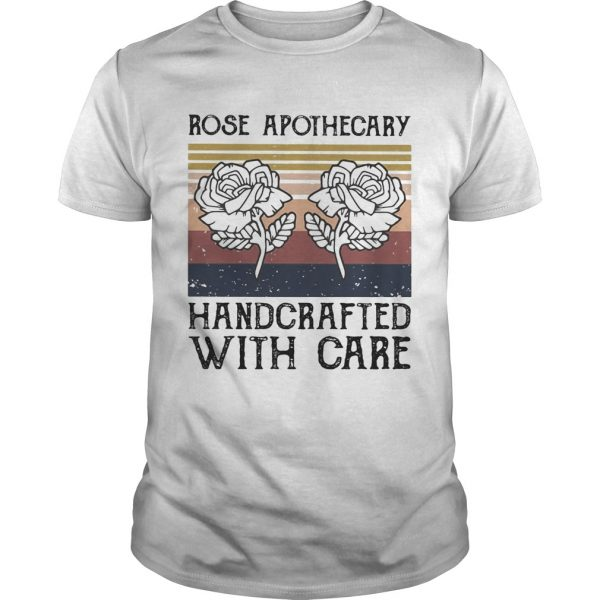 Rose apothecary handcrafted with care vintage  Unisex