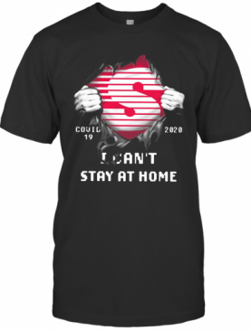 Speedway Inside Me Covid 19 2020 I Can't Stay At Home T-Shirt