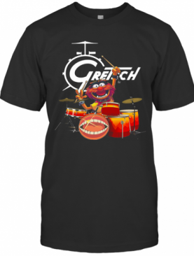 The Muppet Show Animal Playing Gretsch Drums T-Shirt