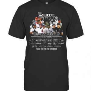 The White Sox 120Th Anniversary 1900 2020 Thank You For The Memories Signatures T-Shirt Classic Men's T-shirt