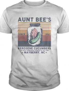 Aunt Bees Since 1961 Kerosene Cucumbers The Best Homemade Pickles Of All Time Mayberry Nc Vintage