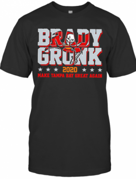 Brady Gronk 2020 Make Tampa Bay Great Again Star T-Shirt