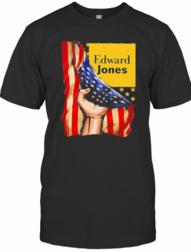 Edward Jones American Flag Independence Day T-Shirt