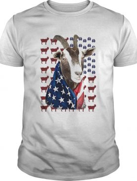 Independence Day Goat Flag shirt