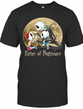 Jack Skellington Father Of Nightmare Happy Father'S Day T-Shirt