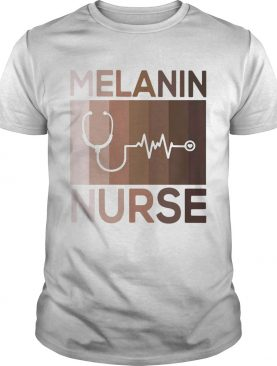 Melanin Nurse Medical Stethoscope shirt