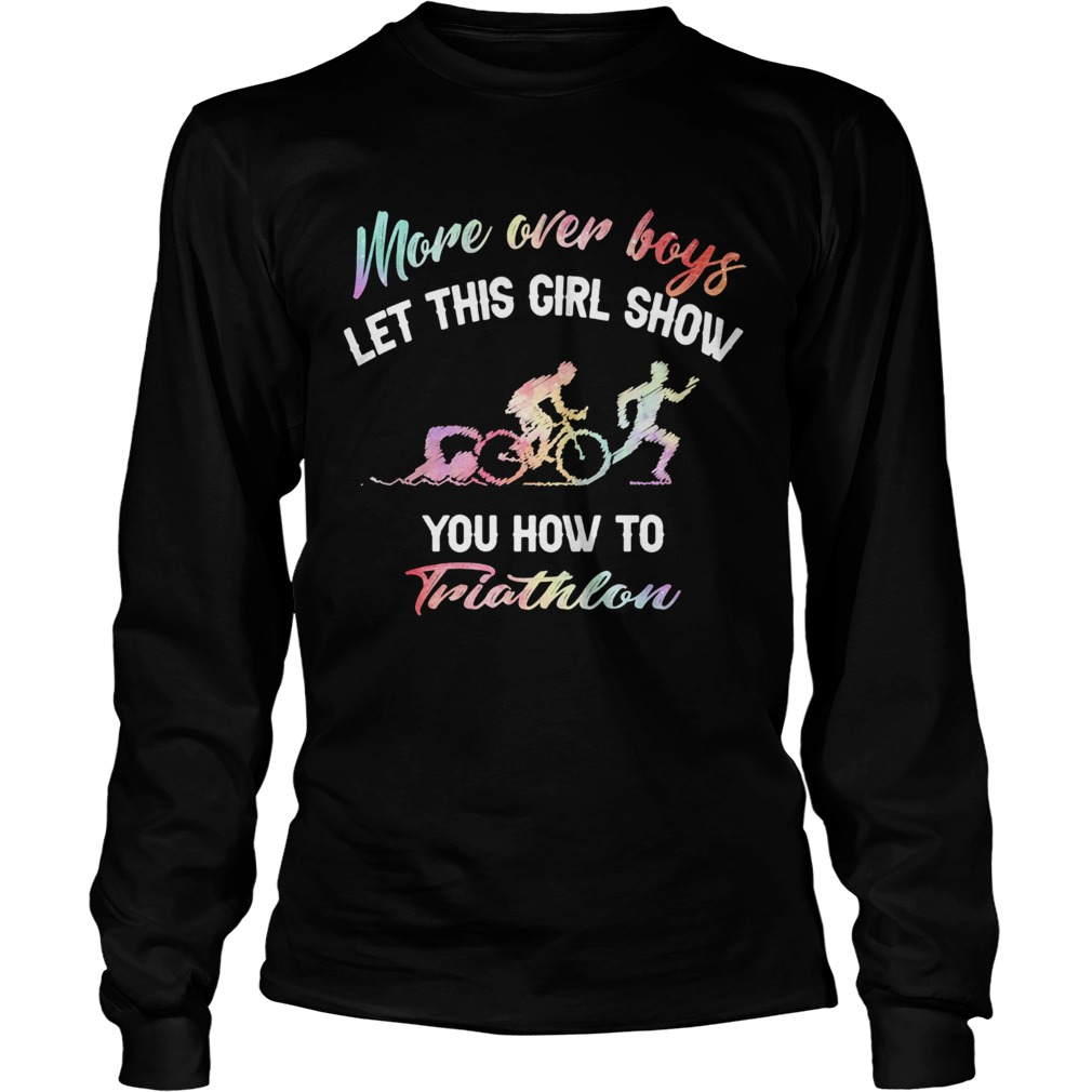 More over boys let this girl show you how to Triathlon Long Sleeve