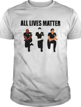 Police All Lives Matter shirt