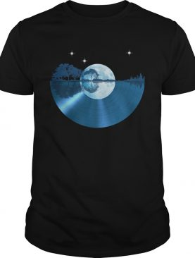 Record music moon soul shirt