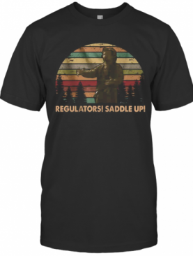 Regulators Saddle Up Vintage Retro T-Shirt