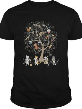 The Cats Are Playing Music shirt
