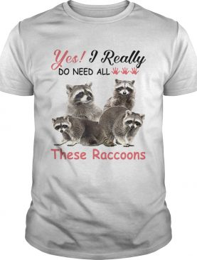 es I really do need all These Raccoons shirt
