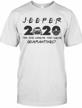 2020 The One Where They Were Quarantined Mask T-Shirt