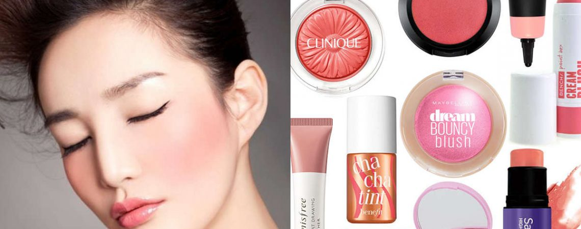 Blusher is all you need on a summer's day