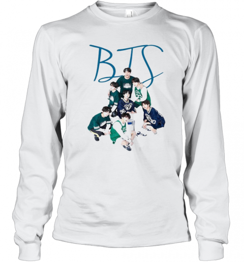 Bts Band Angels Of Army Sports T-Shirt Long Sleeved T-shirt