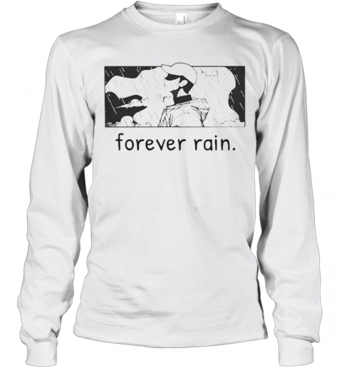 Bts Rm Mono Forever Rain T-Shirt Long Sleeved T-shirt