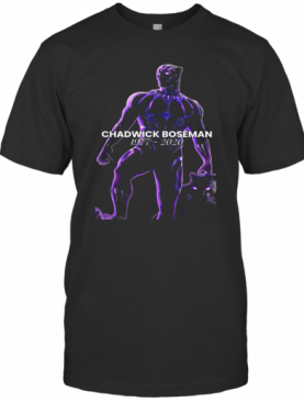 Chadwick Boseman R.I.P To The Black Panther Wakanda Forever T-Shirt