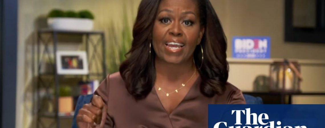 Chain reaction: Michelle Obama's 'vote' necklace goes viral
