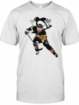 Crosby 87 Pittsburgh Penguins Hockey Team T-Shirt