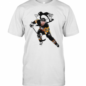 Crosby 87 Pittsburgh Penguins Hockey Team T-Shirt Classic Men's T-shirt