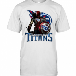 Deadpool Tennessee Titans Logo T-Shirt Classic Men's T-shirt
