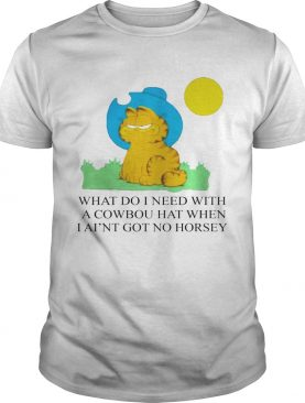 Edward Stockwell What Do I Need With A Cowboy Hat When I Aint Got No Horsey Halloween shirt
