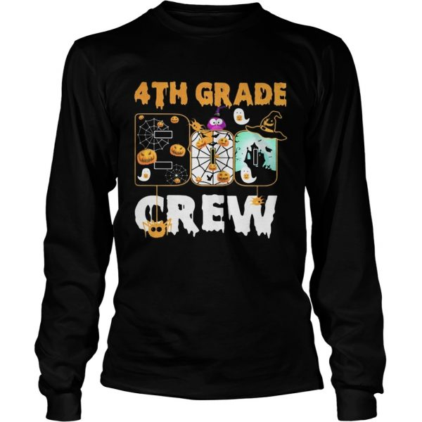 Halloween 4th grade boo crew  Long Sleeve