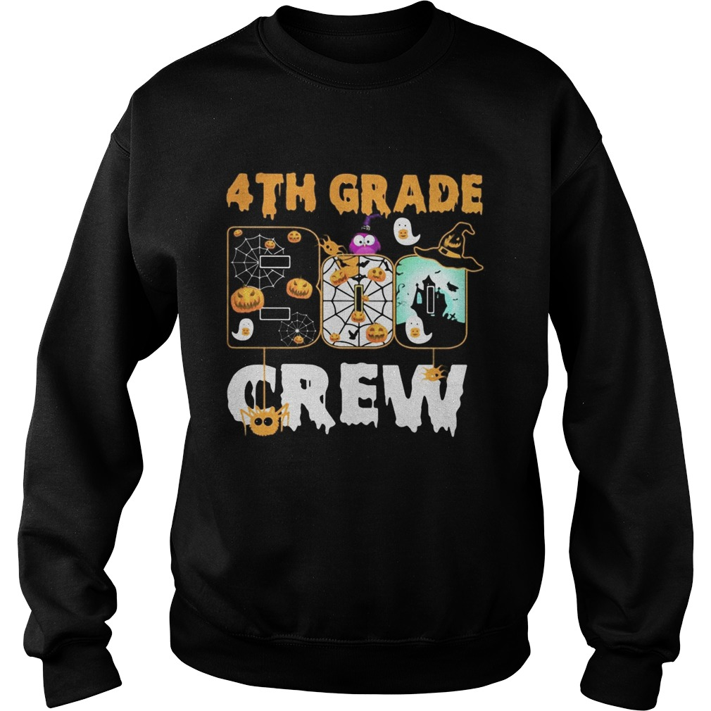 Halloween 4th grade boo crew Sweatshirt