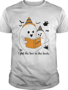 Librarian I Put The Boo In The Book Halloween shirt