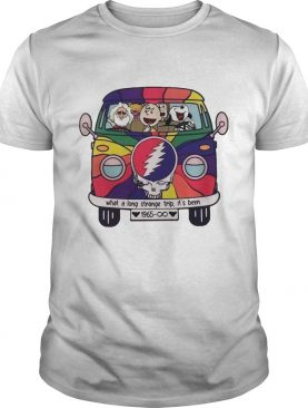 Snoopy Grateful Dead What A Long Strange Trip Its Been 1965 shirt