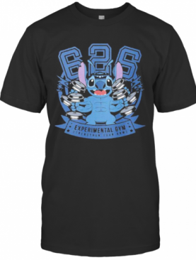 Stitch Experimental Gym Strengthen Your Arms T-Shirt