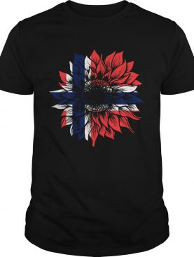 Sunflower Norway Flag shirt