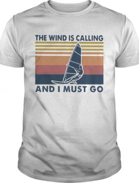 Surfing The Wind Is Calling And I Must Go Vintage Retro shirt