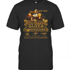 The Moody Blues 56Th Anniversary 1964 2020 Thank You For The Memories T-Shirt Classic Men's T-shirt