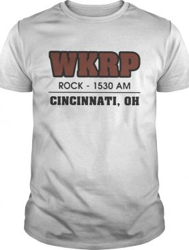 WKRP Rock1530 AM Cincinnati Oh shirt