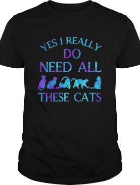 Yes i really do need all these cats shirt