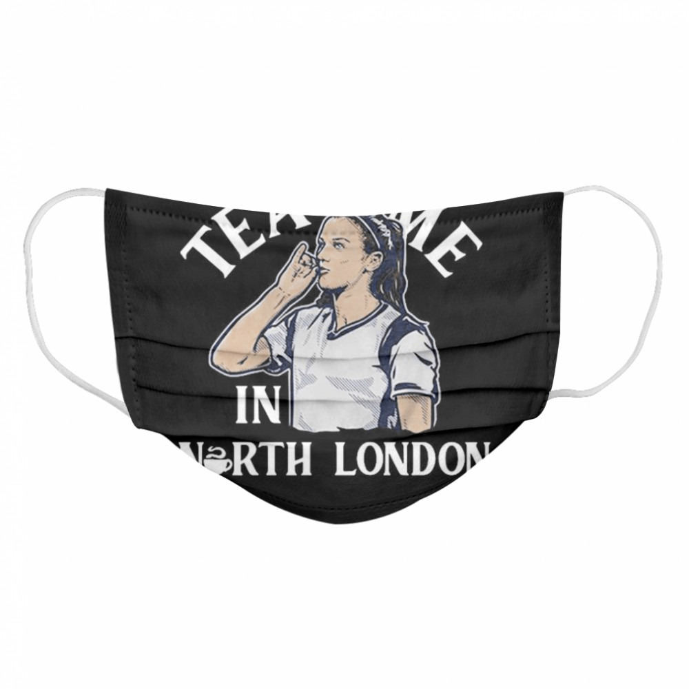 Alex Morgan Tea Time in North London USWNTPA Cloth Face Mask