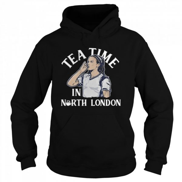 Alex Morgan Tea Time in North London USWNTPA  Unisex Hoodie