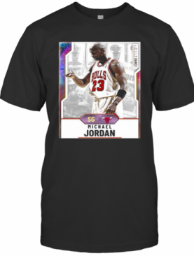 Chicago Bulls Basketball Team Michael Jordan T-Shirt