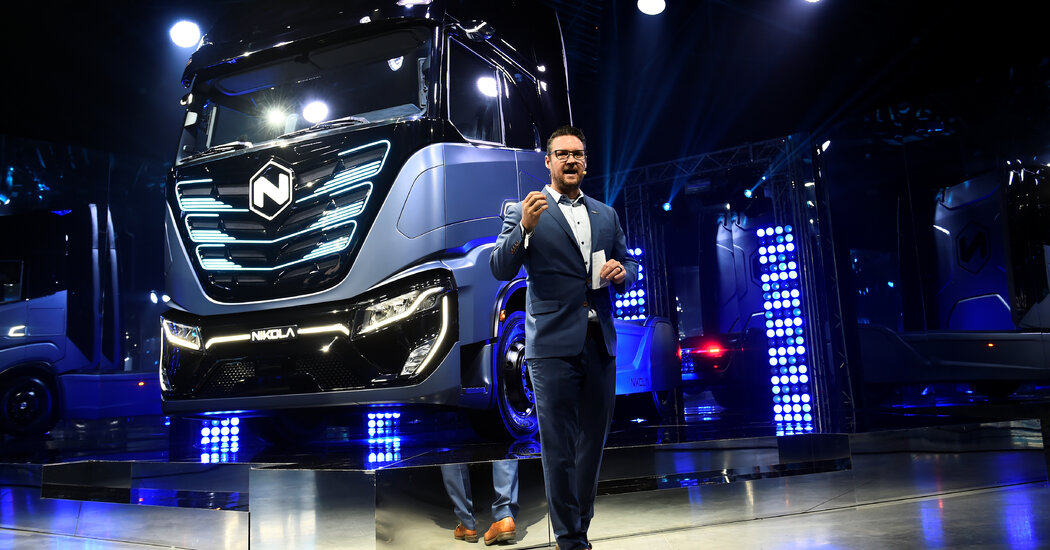 Head of Nikola, a G.M. Electric Truck Partner, Quits Amid Fraud Claims