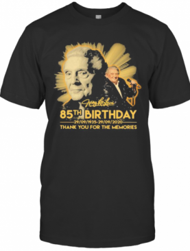 Jerry Lee Lewis 85Th Birthday 1935 2020 Thank For The Memories Signature T-Shirt