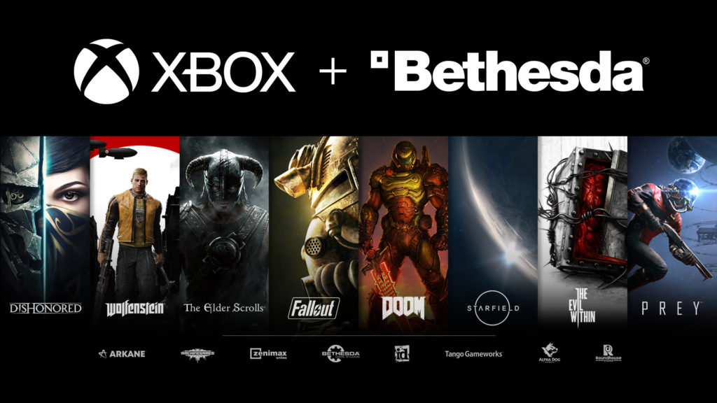 Microsoft to acquire ZeniMax Media and its game publisher Bethesda Softworks