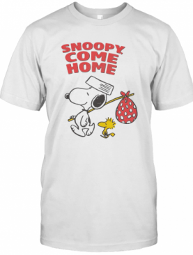 Snoopy And Woodstock Snoopy Come Home T-Shirt