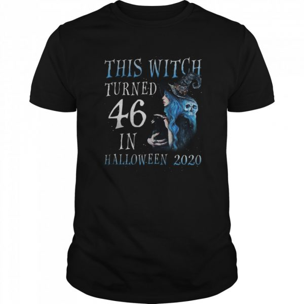 This Witch Turn 46 In Halloween 2020 Halloween Costume  Classic Men's T-shirt