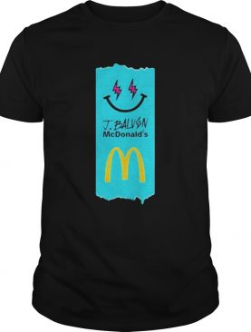 J Balvin Merch J Balvin x McDonalds Fries shirt