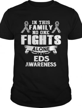 Nice No One Fights Alone Eds Awareness shirt
