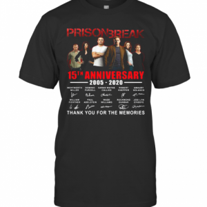 Prison Break 15Th Anniversary Thank You For The Memories T-Shirt Classic Men's T-shirt