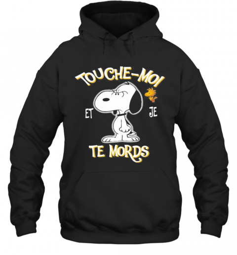 Snoopy And Woodstock Touche Moi Et Je Te Mords T-Shirt Unisex Hoodie